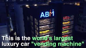 Autobahn Vending Machine Mesmerizing Supercar Vending Machine Film Row Senatus Responds To STB