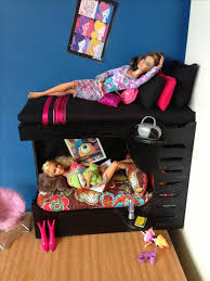 how to make barbie furniture. Barbie Bunk Bed, Made By Me Brielle\u0027s Barbie/Doll House. How To Make Furniture