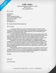 Resume Template Sample Resume Cover Letter For Teachers Best