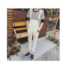 <b>2019 New Arrival Spring</b> personality big hole ripped jumpsuit Male ...