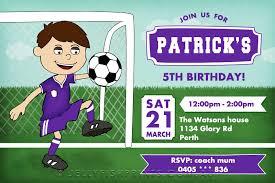 Soccer Party Invitations Soccer Birthday Invitations Printable