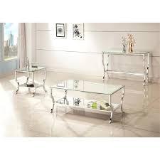 coaster furniture coffee table coaster glass top coffee table in chrome coaster furniture glass top coffee