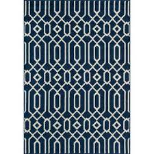 baja navy 7 ft x 10 ft indoor outdoor area rug