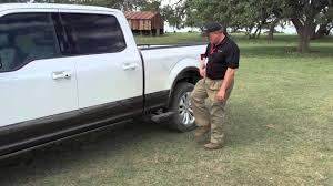 2015 Ford F-150 - Side Step Demonstration - YouTube