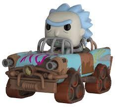 <b>Фигурка Funko POP</b>! <b>Rides</b>: Rick and Morty - Рик Безумный Макс ...