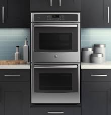 24 built in stainless steel double electric wall oven for modern kitchen design