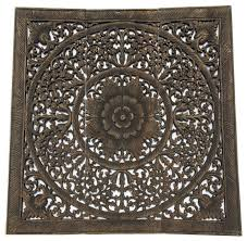 Check out our round wall art selection for the very best in unique or custom, handmade pieces from our wall hangings shops. Round Wood Carved Wall Art Panels Black Wash 36 Large Asian Wood Wall Decor