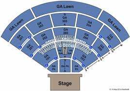 North Island Credit Union Amphitheatre Tickets Seating