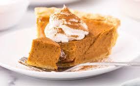 clic pumpkin pie holiday dessert