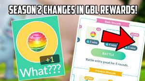 Season 2: Changes to Go Battle League Rewards in Pokemon Go!