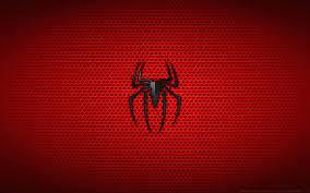 Wallpaper 4k Spiderman Logo Spiderman ...