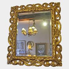 new large ornate gold wall overmantle