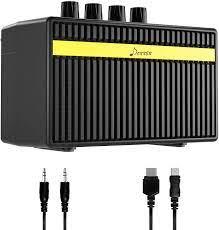 Donner Mini 3W Electric Guitar Amplifier, Gitarrenverstärker Guitar  Amplifier Bassverstärker, Wiederaufladbare Mini E-Gitarrenverstärker, Mini  Combo Amp Zwei Kanäle Clean und Distortion: Amazon.de: Musikinstrumente