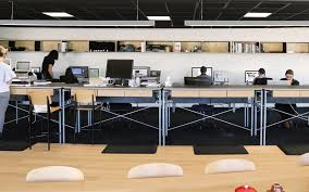 office work surfaces. Plytech \u2014 Case Studies \u2013 Matt Black Work Surfaces Add To Creative Agency\u0027s Refined Look Office
