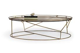 furniture brass frame coffee table with oval glass top for small rustic living room spaces ideas