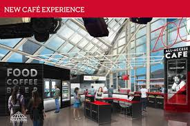 Aramark Tower Cafe Aptly Named All Access Cafe Offers Quick Serve Chef Driven