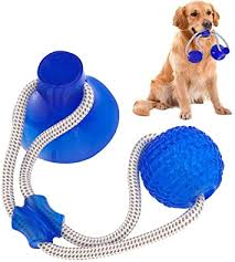 Suprcrne <b>Pet Toy</b> Self Playing Rubber Ball <b>Toy</b> with Suction Cup ...