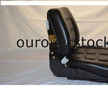 hyster forklift seat new universal vinyl forklift suspension seat fits clark cat hyster yale toyota