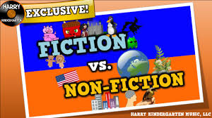 non fiction song for kids about distinguishing fiction vs non fiction texts you