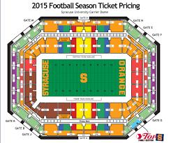 Syracuse Football Season Tickets Cost Same For 2015 Season