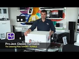 Pro-Ject The <b>Classic Turntable</b> Unboxing | The Listening Post ...