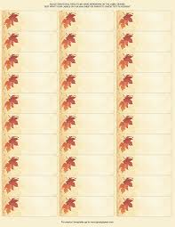 great papers templates pm sku 2017004 great papers fall leaves address labels