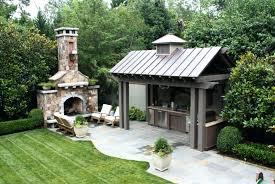 free outdoor fireplace plans blueprints brick designs diy