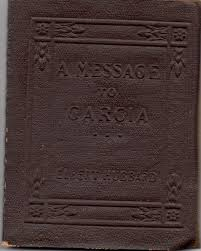 a message to garcia little leather library brown leatherette