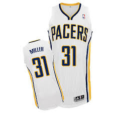 Jersey Miller Mens Reggie 31 Home Authentic Pacers Adidas Nba White Indiana