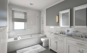 Image for White And Gray Bathroom