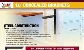 1 inch concealed bracket catalog cover