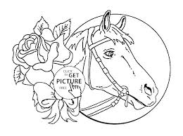 Horse For Coloring Autoinsurancegusinfo