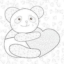 Panda Kleurplaat Panda Kleurplaat Tekening Paardenhoofd Shshiinfo