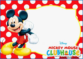 Free Mickey Mouse Template Download 020 Mickey Mouse 1st Birthday Invitations Template Templates