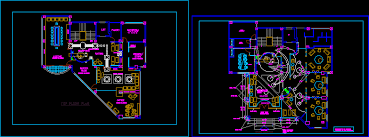 office building interior layout dwgautocad drawing cad office space layout