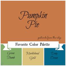 Pumpkin Paint Color