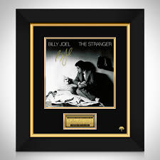 10×8 inch unframed typography art print, rrp £9.99. Billy Joel Stranger Lp Cover Limited Signature Edition Studio Licensed Rare T