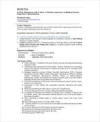 Welders Resume Techtrontechnologies Com