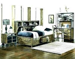 Gray Wood Bedroom Furniture Grey Wood Bedroom Set Dark Wood Bedroom ...