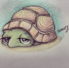Small Picture Cute Turtle drawing by qawsey Dibujos Pinterest Turtle