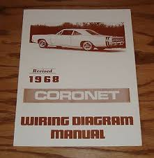 1968 coronet zeppy io 1968 dodge coronet revised wiring diagram manual 68