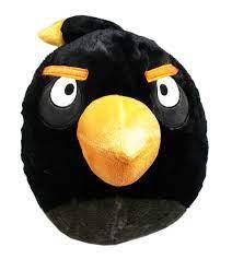 Angry Birds The Bomb Bird Plush Toy/Pillow w/Secret Zipper Pocket -  Walmart.com - Walmart.com