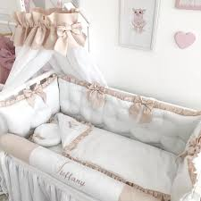 crib bedding set neutral baby girl crib