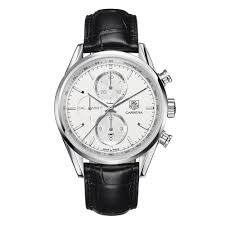 tag heuer carrera watches beaverbrooks the jewellers tag heuer carrera chronograph automatic men s watch