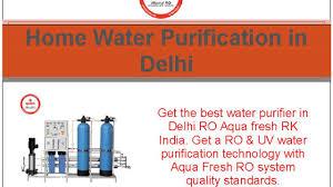 Best Home Ro System Aqua Fresh India Ro System Youtube