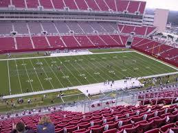 Taylor Swift Raymond James Seating Chart Raymond James Stadium View From Upper Level 307 Vivid Seats