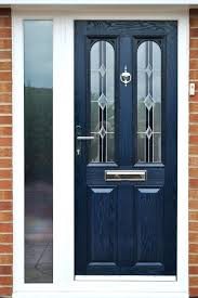 glass entry door security contemporary blue front door stained glass home pertaining to panel exterior design glass entry door security