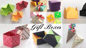 top 10 gift box paper boxes diy activities