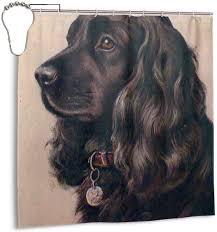 Black Cocker Spaniel Dog Vintage Valid ...