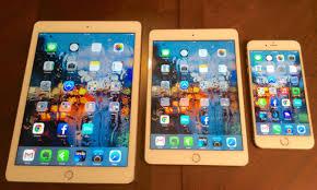 ipad size comparison iphone 6 plus ipad mini 3 and ipad air 2 size comparison in photos